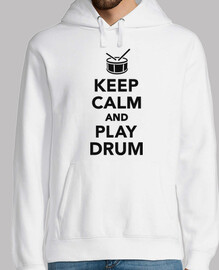Keep calm and Play drum