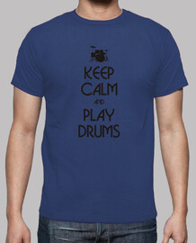 Keep calm and play drums