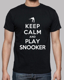 Keep Calm and Play Snooker