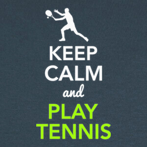 Keep Calm and Play Tennis T-shirts