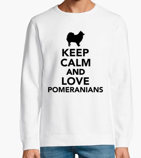 Sweat keep calm and pomeranians amour