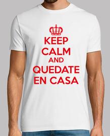 keep calm and quedate en casa