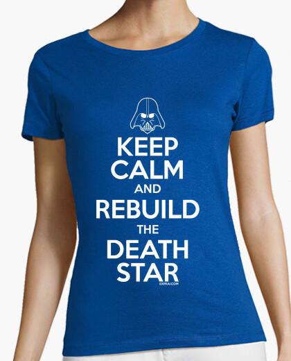 Tee-shirt Keep Calm and Rebuild the Death Star