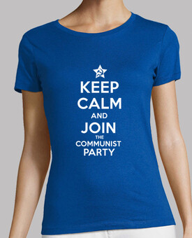 keep calm and rejoindre le parti communiste