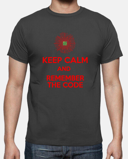 keep calm and remember red