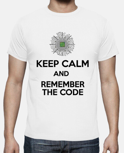 keep calm and remember the code