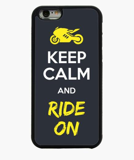 Keep Calm And Ride On Funda iPhone 6 / 6S 6