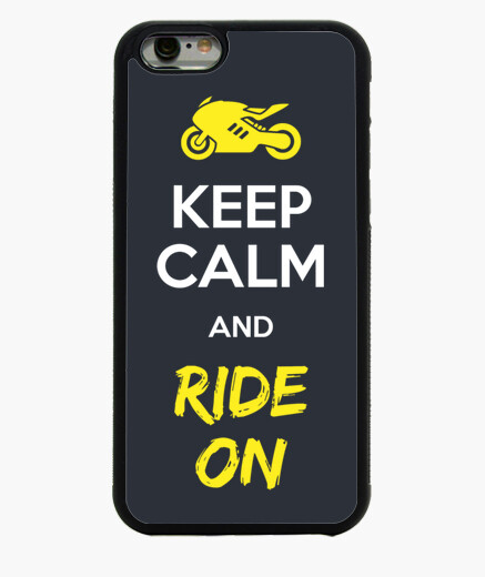 Keep Calm And Ride On Funda iPhone 6 / 6S 6