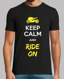keep calm and ride su