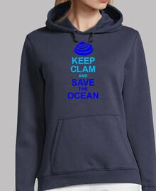 KEEP CALM AND SAVE THE OCEAN