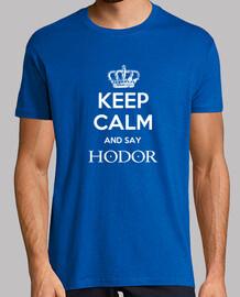 keep calm and say hodor