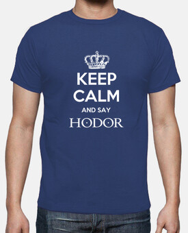 keep calm and say hodor