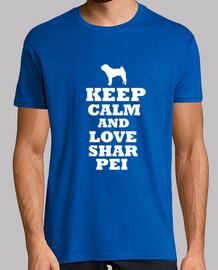 keep calm and shar pei amour