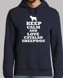 keep calm and sie keep calm and liebe katalanisch - schäferhund