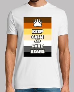 keep calm and sie keep calm and liebe trägt hemd