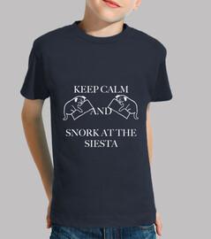 Keep calm and snork at the siesta en bl