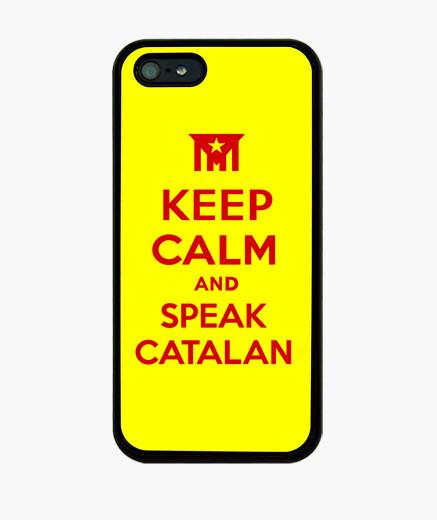 Funda iPhone Keep Calm and Speak Catalan