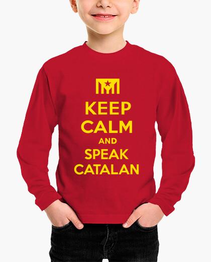 Ropa infantil Keep Calm and Speak Catalan 2