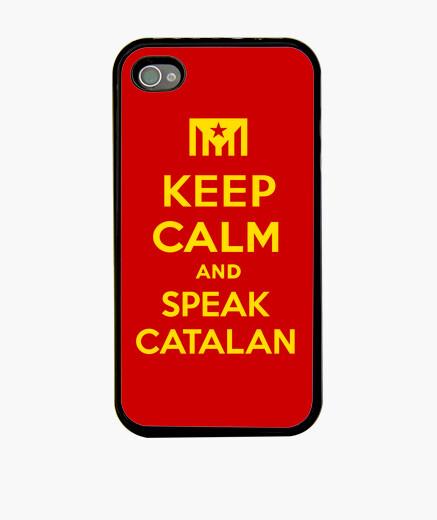 Funda iPhone Keep Calm and Speak Catalan 2