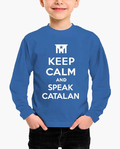 Ropa infantil Keep Calm and Speak Catalan 3