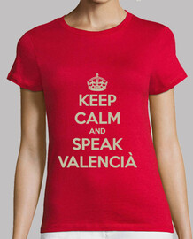 Keep Calm And Speak Valencia