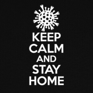 Camisetas Keep Calm and Stay Home