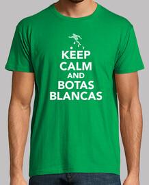 keep calm and stivali bianchi