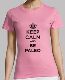 keep calm and suisez paléo noir