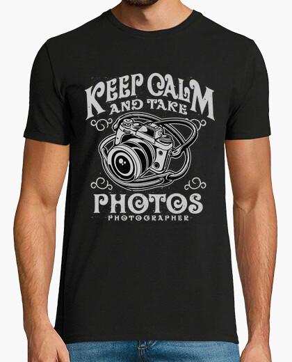 Camiseta Keep Calm And Take Photos