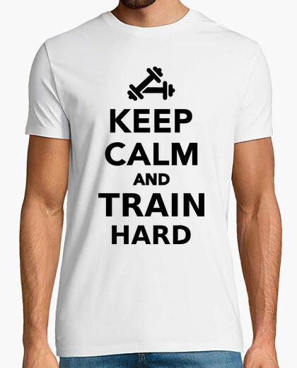 Tee-shirt Keep calm and train hard
