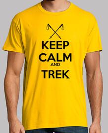 Keep Calm and Trek Hombre