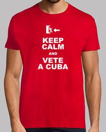 Keep calm and vete a Cuba