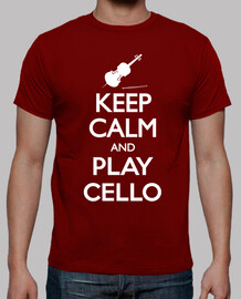 keep calm and violoncelle