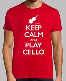 keep calm and violoncello