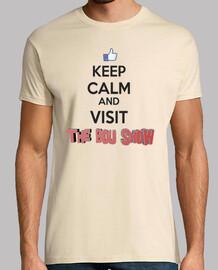 keep calm and visiter le bou show (garçon)