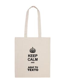 keep calm and w. de base