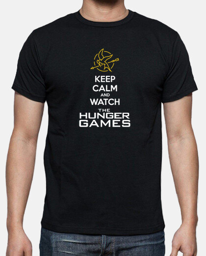 KEEP CALM and WATCH THE HUNGER GAMES