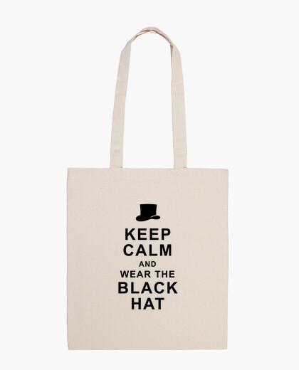 Bolsa Keep calm and wear the black hat