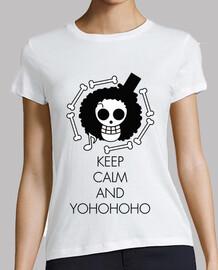 keep calm and yohohoho noir