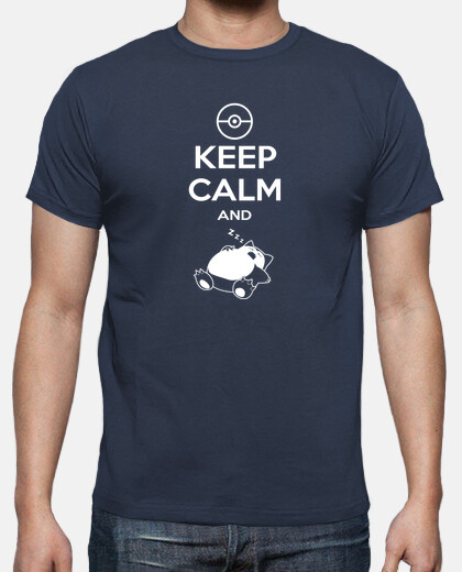 keep calm and zzz mens/unisex