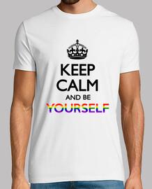 Keep calm be yourself