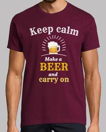 keep calm beer