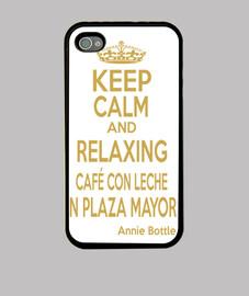keep calm cafe con leche
