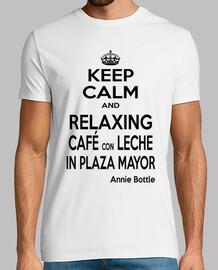 keep calm cafe con leche neg