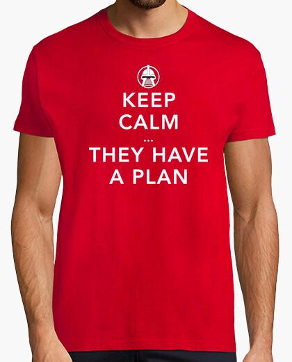 Keep calm cylon t-shirt