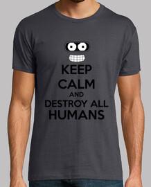 Keep Calm Destroy All Humans
