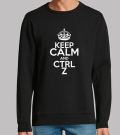 keep calm en noir