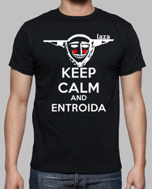 Keep Calm Entroida (Logo Blanco)
