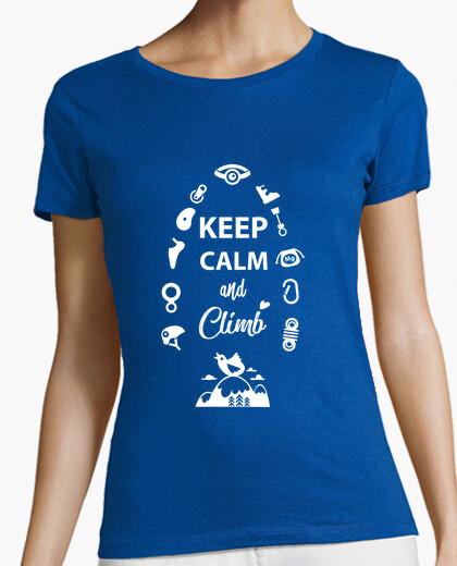 Tee-shirt keep calm et clim