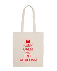 Keep calm free Catalonia